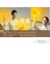 Broschüre Davi Engineering